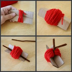 Little Apple Yarn Favors | Make and Takes