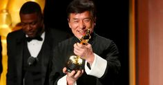 Jackie Chan finally receives an Oscar, after all those years of broken bones