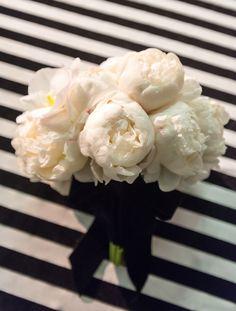 White #Peony #Bouquet