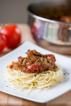 Chicken Cacciatore   bsinthekitchen.com #dinner #pasta #bsinthekitchen