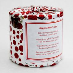Father's Day Toilet Paper Card  Printable PDF