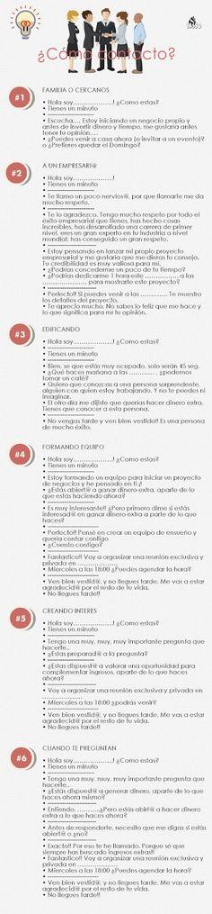 MULTINIVEL SPAIN: ¿Cómo contacto?¿Que le digo?