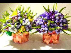 Горшочек для цветочной композиции/How To Make FLOWER POTS/Tutorial/D.I.Y - YouTube