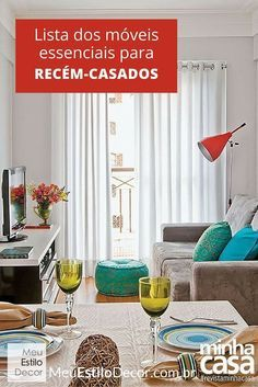 salas pequenas e cheias de estilo - Casa) Living Pequeños, Small Living Rooms, Home Living Room, Apartment Living, Living Room Decor, Living Area, Decoration Design, Deco Design, Rooms Decoration