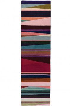 Refraction Bright Runner by Paul Smith for The Rug Company