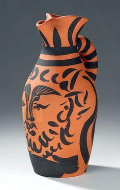 Ceramic. Artist- Pablo Picasso
