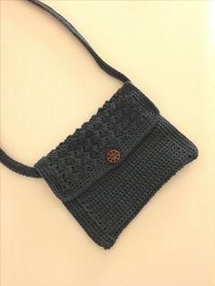 Hæklet lille taske
