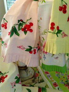 Spring 2013. Botanical Cherry Towels