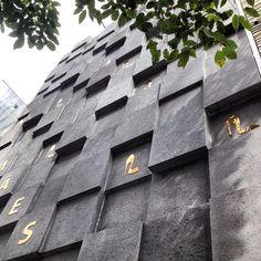 Concrete #facade at Rua Oscar Freire #saopaulo #brazil #architecture #archdaily #instagood #iphonesia