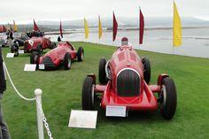 Vintage Alfa Romeos at Pebble Beach