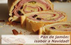 Pan de Jamón Horneado listo para servir