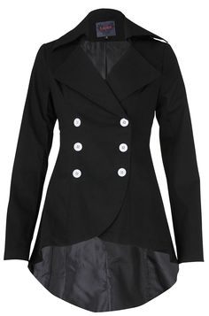 Women's Fall Fashion, Jacket....Replace the white buttons with back buttons and this would be a great Fall Fashion statement!