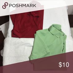 Bundle of 2 Men's Golf Shirts, size L Bundle of 2 Men's Golf Shirts, size L. Brand is Grand Slam, 100% poly. No additional measurements or pictures at this price. FDS/030317 Grand Slam Shirts Polos