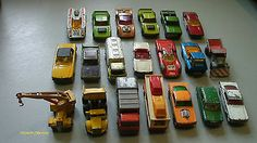 MATCHBOX TOYS   Lot Of 20 Early Vehicles.   Made In England By Lesney - http://www.matchbox-lesney.com/38829