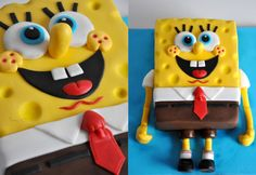Spongebob - Cake by CakesVIZ