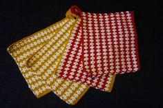 Potholders, yarn Linie 110 Timona