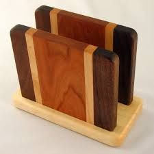 how to make wooden napkin holders - Google Search