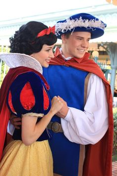 Snow and her Prince from Snow White and the Seven Dwarfs