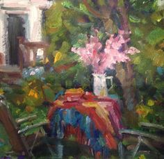 Pink Blossoms by Norman Teeling on ArtClick.ie