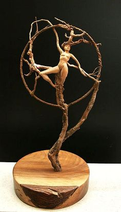 """Dream Catcher"" by Rick Cain Sculptor, see his other items on ETSY, an amazing artist!"