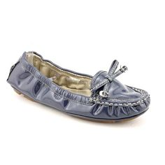 Coach Isabelle Moccasins Shoes Blue Womens « Shoe Adds for your Closet