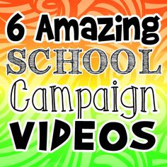 Great School Campaign Slogans Posters And Ideas  I Wish I