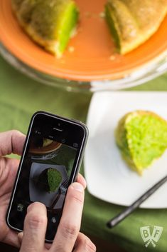Pandan extract gives this traditional Vietnamese honeycomb cake (Bánh Bò Nướng) a vibrant, green hue. A fun reveal that would be great for St. Patrick\'s Day, Halloween, or any Vietnamese meal. #Vietnamese #dessert #green #pandan #bundtcake