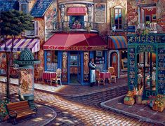 Cafe L'Amour by John P. O'Brien