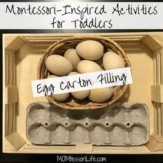 A Montessori mom's home-educating journey through the infant, toddler, and preschool years. Montessori activities for babies, toddlers, and preschoolers! Letter E Activities, Farm Activities, Montessori Activities, Infant Activities, Infant Classroom, Montessori Classroom, Montessori Toddler, Toddler Preschool, Montessori Bedroom