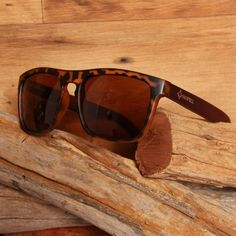Wayfarer Style Testudinarious Frame and Brown Lens Wood Sunglasses Real Wood, South Africa, Wayfarer, Sunglasses Case, Bamboo, Lens, Brown, Frame, Beautiful