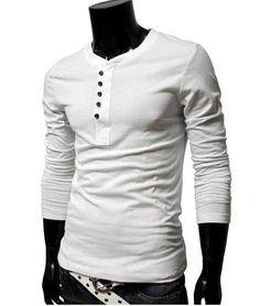 Mens Summer Fashion Long Sleeve