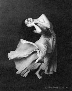 The Joy of Dance - Photo Reproduction Dance Print by Elizabeth Holmes of The Painted Photo