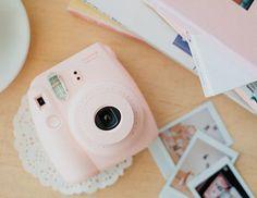 Fujifilm Instax Mini 8 Instant Film Camera (Pink) from EyeCandy's. Instax Mini 8 Camera, Instax Mini 8 Rosa, Polaroid Camera Fujifilm, Instax Mini 8 Pink, Fujifilm Instax Mini 7s, Polaroid Instax, Polaroid Cameras, Instax 8, Pink Camera