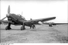 JU87 Stuka dive bomber, powerful enough to tow assault gliders.