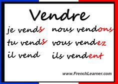 French Regular RE Verbs: Verb Guide With Audio Conjugations - Very Useful For Beginners: http://www.frenchlearner.com/verbs/regular-re-verbs/