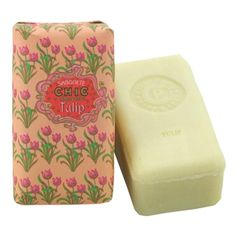 Tulip Soap - Love the packaging!