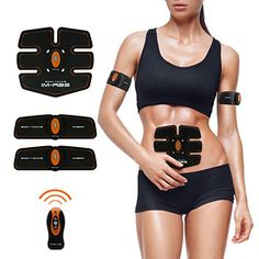 Open-Minded Smart Abs Stimulator Muscle Trainer Toning Belt Home Exercise Fit Abdominal Pad Fitness Gym Abs Arm Sports Stickers Ab Rollers Sports & Entertainment