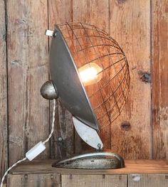Vintage Thunderdome Lamp
