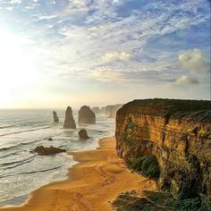 12 Apostles #12apostles #twelveapostles #greatoceanroad #melbourne #portcampbell #sunset #ocean #oceanview #destinationwarrnambool #australia #landscape #love #happiness #nature #scenic #amazing #sea #beach #beachlife #sun #travel #travelling by richard_leong http://ift.tt/1ijk11S
