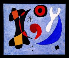 I like his art.it reminds me of Paul Klee. Miro Artist, Joan Miro Paintings, Art Plastique, Art And Architecture, Great Artists, Les Oeuvres, Painting & Drawing, Art Quotes, Modern Art