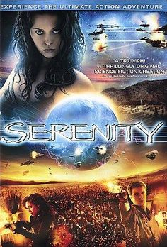 Serenity (Fullscreen) on DVD from Universal. Directed by Joss Whedon. Staring Summer Glau, Chiwetel Ejiofor, Nathan Fillion and Alan Tudyk. More Action, Space and Science Fiction DVDs available @ DVD Empire. Serenity Movie, Firefly Serenity, Best Sci Fi Movie, Great Movies, Movie Tv, Awesome Movies, Movies Box, Movie List, Sci Fi Movies