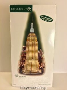 Department 56 Empire State Building Dept 56 Christmas In The City Lighted Rare
