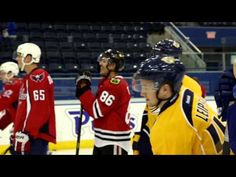 As a figure skater myself, I'm actually pretty impressed :) --->NHL Rookies Get Figure Skating Lessons