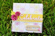Use Tags, Bags, Boxes, and More 2 to create this beautiful birthday gift package! #Cricut