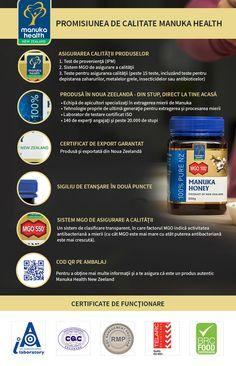 Manuka Health este lider în studierea mierii de Manuka şi a propolisului şi este prezentă în peste 45 de tări din toată lumea. ApiLand este unic importator și distribuitor al Mierii de Manuka MGO™ și a altor produse oferite de producătorul Manuka Health din Noua Zeelandă. Toate produsele vin însoțite de număr de lot verificabil și certificat de conformitate, acestea fiind oferite de producător în ambalajul original sigilat.