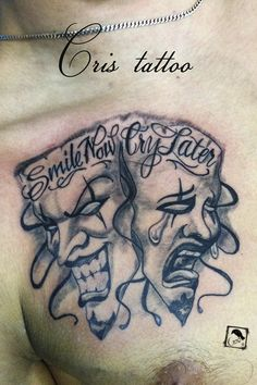 mascaras tattoo