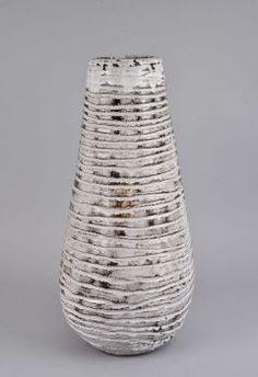 Bodenvase, Keramik, Gerhard Liebenthron, Bremen 1959, Höhe 58 cm