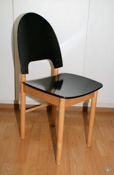Pisara ruokapöydän tuoli - tahtoo valkoisena, kiitos.