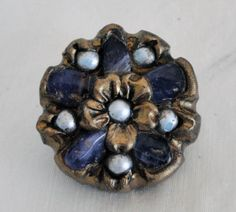Medieval jewelry pin renaissance Elizabethan by myladysfavor, $15.00