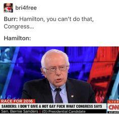 That's it. That's Hamilton.